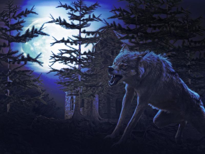 Természetfeletti lény a vérfarkas